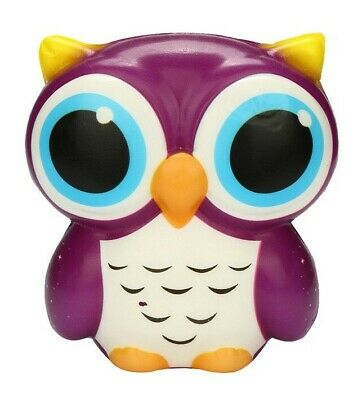 Owl _  Purple ~ Squishie -- (Great_Christmas_Gift)