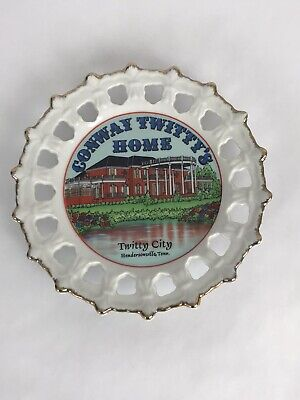 """Vintage Conway Twittys Home TN Decorative Collector Plate 8"""" Gift Wall Hanging"""