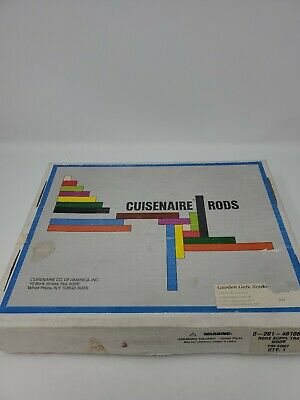 Cuisenaire Rods Wooden Missing One 1 centimer block