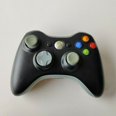 Microsoft Xbox 360 Wireless Gamepad Controller Black