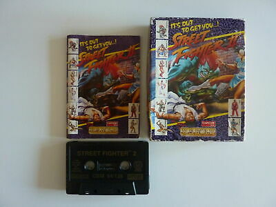 Commodore 64 Game - Street Fighter 2 - Ocean - Tape