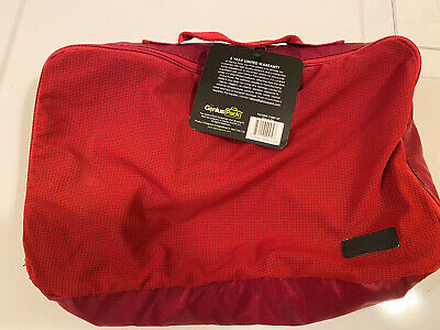 GENIUS PACK-Compression Packing Cubes – Set of 3-Luggage Organizer Bags-RED
