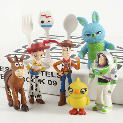 Toy Story Buzz Lightyear Woody 7 X Action Toys Mini Figures Models Collectibles