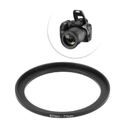 67mm To 77mm 67mm-77mm 67 To 77 Metal Step Up Rings Lens Stepping Adapter Filter