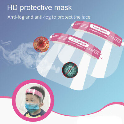 Safety Full Face Shield Clear Protector Anti-Splash for School Children  Lot