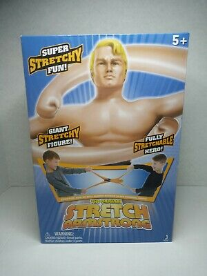 Stretch Armstrong Action Figure Original Kenner Vintage Kids Toy Gift