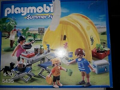Playmobil Family with Camping Tent 5435