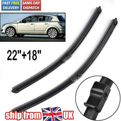 "Astra Van 1998-2005 Front Wiper Blades UniBlade 20/"" 19/"" For Vauxhall"