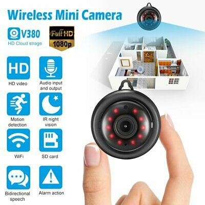 Wireless HD 720P WIFI IP Camera Outdoor//Indoor Night Vision Home Security CHL