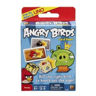 ANGRY BIRDS HOLIDAY EDITION CARD GAME FROM THE MAKERS OF UNO    NEW