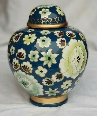 Hand Painted Cremation Urn, Funeral Urns Adult, Urns for Human Ashes (Large)