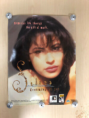 "Vintage Promo Selena Dreaming of You   Poster 18""x24"""