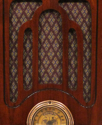 Vintage Fabric for Speaker Grill Cloth - Antique Radio Grille Restoration