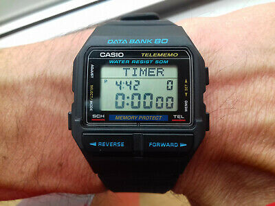 CASIO DB 80 MODULE 1485 DATABANK 80 VINTAGE COLLECTION NOS  dDVoY
