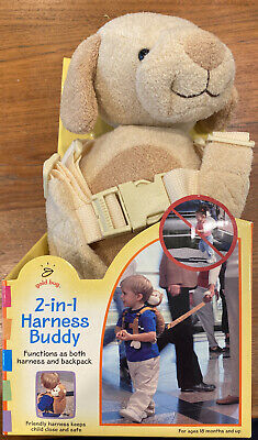 2-in-1 Harness BuddyBackpack /& Reins in 1Child Backpack Harness