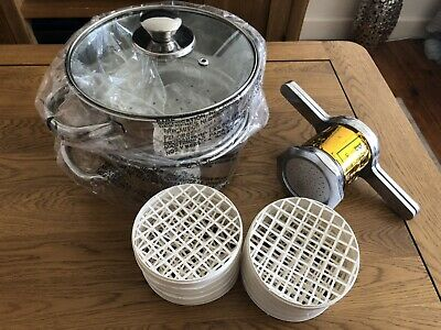 String Hopper Mould With Plastic Trays and Steamer Pot