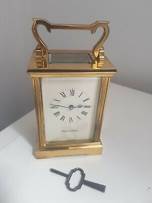 Vintage and Stylish Mappin & Webb Carriage Clock/Mantel Clock! Working