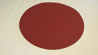 18 Inch 50 Grit Psa Sanding Disc Aluminum Oxide X-Weight Cloth Backing *5-Pack*