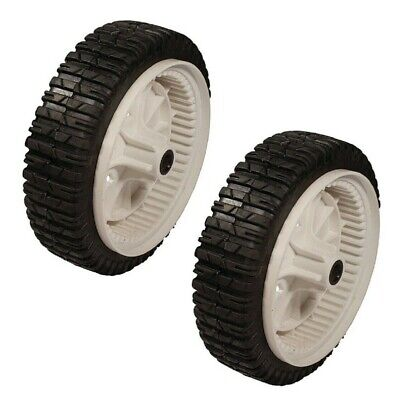 Husqvarna 180773 Plastic Front Drive Wheel for AYP Pack of 2 Sears Craftsman