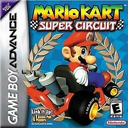 Nintendo Game Boy Advance Gba Mario Kart Super Circuit For Sale Picclick