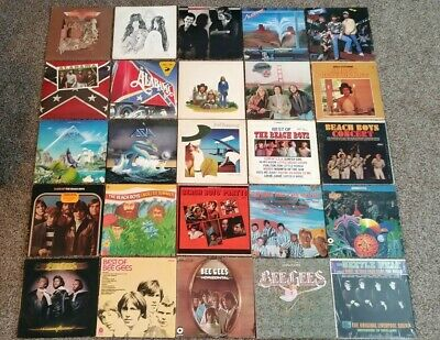 U Pick Any 4 / $20 Lot Vinyl Records Rock, Pop 70's and 80's All Great Artists!