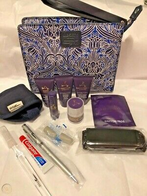 Amenity Kit LIBERTY of London First Class British Airways Washbag NEW W2