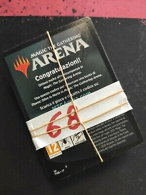 68x MTG Magic Arena Code Booster Theros beyond the death - Theros oltre la morte