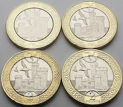 Isle of Man Tower of Refuge £2 coin set - Circulated