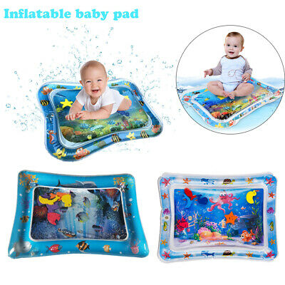 26In Inflatable Baby Water Mat Novelty Play Kids Children Infants Tummy Time US
