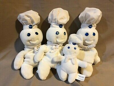 """1997 Pillsbury Doughboy Beanie Baby~NEW in Package~8 1//2/"""" tall~SO ADORABLE~L@@K"""