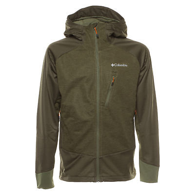 COLUMBIA STEEL CLIFF Hooded Softsh Veste Sportive Homme