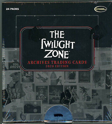 2020 Twilight Zone - Archives 2020 Edition Factory Sealed Box IN STOCK
