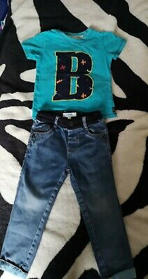 Ted baker boys top and jeans aged 2-3
