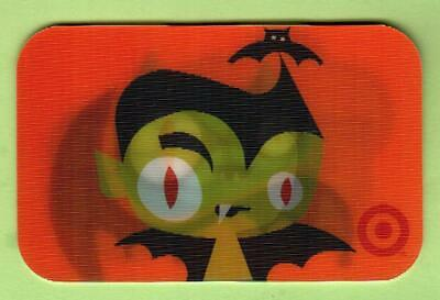 2013 TARGET HALLOWEEN BAT GIFT CARD COLLECTIBLE NO VALUE NEW
