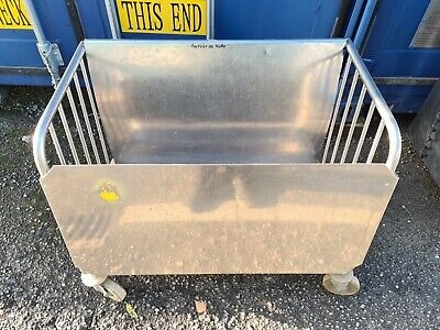 Stainless Steel Utilty Trolley Commercial Kitchen 900 x 450