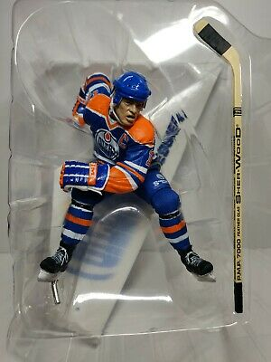 "MARK MESSIER Edmonton Oilers 2.5/"" Series 5 NHL Imports Dragon Figure Toy LOOSE"