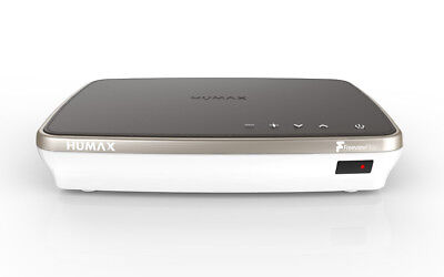 Humax FVP-4000T 1TB HDD TV Recorder with 3 Freeview+HD Tuners - Cappuccino
