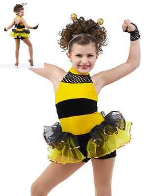 Details about  /Jungle Boogie Dance Costume Skirted Leotard with Mitts /& Headpiece Child X-Large