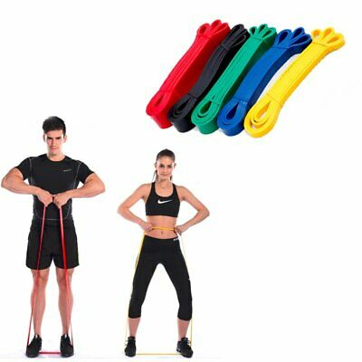 Exercise Pull Up Assist Bands Powerlifting For Resistance Body Stretching USA