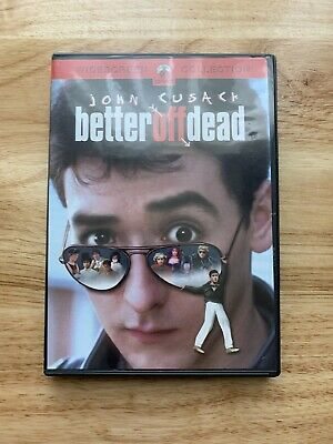 Better Off Dead (DVD, 2002) Complete With Insert