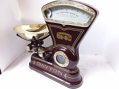 Custom Restored Antique/ Vintage Cast Iron Dayton Candy/ Mercantile Scales