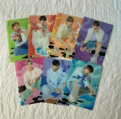 BTS  MAP OF THE SOUL 7  THE JOURNEY  Universal music store Benefits Photo card