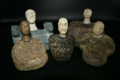 5 Beautiful Ancient Bactrian Stone Composite Idol/Statue At a reasonable Price.