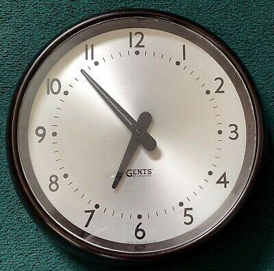 Vintage Gents of Leicester AC Mains Synchronous Wall Clock