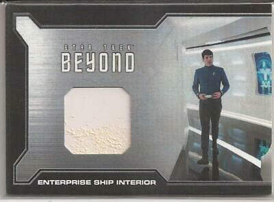 Enterprise Ship Interior Relic Card BRC1 -Star Trek Beyond Movie Trading Cards