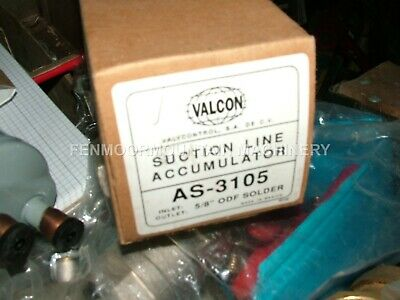 "Suction Line Accumulator Valcon. Vertical APJ AS-3105,5/8"" Solder cfc, hcfc,hfc"