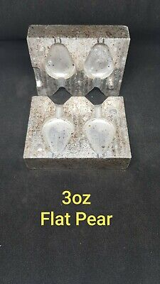 25 X Flat surf sinkers BALL  SIZE 7 WEIGHT 89 GRAMS  QTY 25 Ball SINKERS D7575