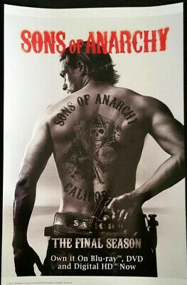 WonderCon 2015 Handout Sons of Anarchy THE FINAL SEASON Poster