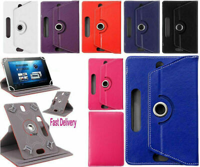 "Huawei MediaPad T5 (10.1""inch) Tablet Leather Rotating Stand Flip Case Cover"