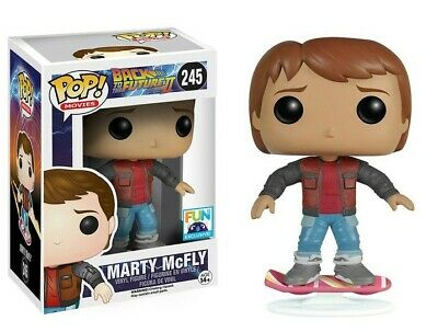 FUNKO POP! BACK TO THE FUTURE II - MARTY MCFLY HOVERBOARD EXCLUSIVE (Original)
